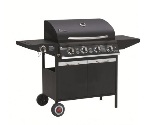 Grill Chef Gas Barbecue With Side Burner - 4 Burner
